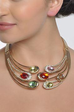 Clash Of Colours Necklace