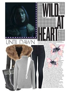 """""""Until Dawn;Emily (character inspiration)"""" by kwiatekmarek ❤ liked on Polyvore featuring мода, Mother, WearAll, Forever Collectibles, Chloé, Ann Demeulemeester, Inspired, inspiration, videogame и untildawn"""