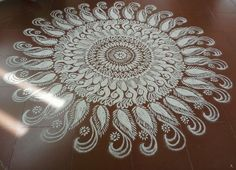 Ugadi Kolam Rangoli Designs
