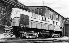 Locomotora ALCO RSD-16 en la planta de ALCO en Schenectady (USA) antes de ser embarcada a la Argentina (1957)