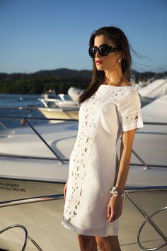 #LookDeLaSemana:  Viste con glamour esta semana con nuestra temporada #NavyYacht   #GriseldaTovar #Moda #Mujeres