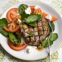 Mediterrane Rinderfilet-Steaks
