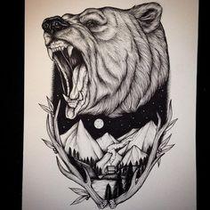 American Traditional Tattoo - Bilder - Tattoos Piercings - American Traditional Tattoo - Bilder - Tattoos Piercings - tattoo for men tattoos tattoo tattoo japones tattoo tattoo traditional Nature Tattoo Sleeve, Nature Tattoos, Body Art Tattoos, Black Tattoos, Ship Tattoos, Ankle Tattoos, Arrow Tattoos, Tattos, Traditional Bear Tattoo