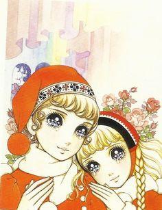 The Snow Queen, Macoto Takahashi (I'm going to admit it, this one kind of freaks me out but I like it anyway) Manga Drawing, Manga Art, Manga Anime, Anime Art, Japanese Illustration, Book Illustration, Manga Illustrations, Copic Art, Kawaii