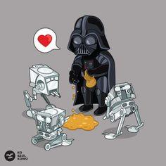 Taś Taś - Koszulkowo   t-shirt, Vader, koszulkowo, The Atee