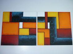 tripticos geometricos abstractos - Buscar con Google