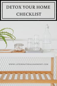 Detox Your Home with this checklist! Detox your environment for a healthier, non-toxic living. Natural Cleaning Solutions, Natural Cleaning Recipes, Natural Cleaning Products, Castile Soap Uses, Castile Soap Recipes, Detox Your Home, Natural Air Freshener, Chemical Free Cleaning, Take Care Of Your Body