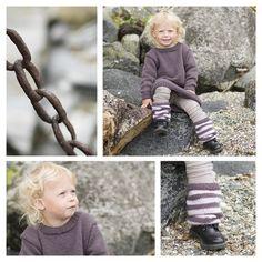 Høstkjole - Barnehagebarn 1-6 år - Materialpakker - Design by Marte Helgetun