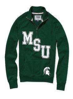 Michigan State Zip up sweat shirt