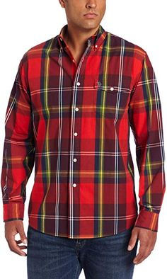 421a01a9 U.S. Polo Assn. Men's Plaid Shirt, Classic Navy, Large at Amazon Men's  Clothing store: Button Down Shirts