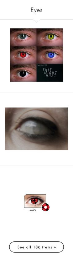 """""""Eyes"""" by heartless241 ❤ liked on Polyvore featuring beauty products, makeup, eye makeup, teen wolf, eyes, images, pics, pictures, backgrounds and effect"""
