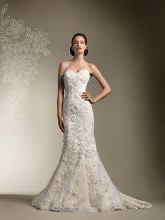 Elegant Lace Sweetheart Trumpet Wedding Dress with Long Sleeve Jacket