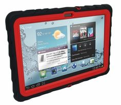 Cool, rugged cases for tablets