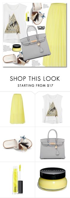 """""""Yoins #1"""" by aida-nurkovic ❤ liked on Polyvore featuring Hermès, MAC Cosmetics and Bobbi Brown Cosmetics"""