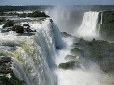 Might Iguazu Falls