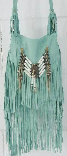 Turquoise Fringe ♥✤ | KeepSmiling | BeStayBeautiful