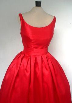 50s cocktail dress.