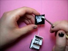 How to make a mini book - /IrisvonHagen/miniatures/   over 900 pins!