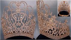 GOLD Supreme Diva Beauty Pageant Crown