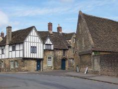 Lacock High Street, blue door from harry potter 6!