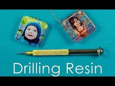 How To Drill Resin - Mini Hand Drill - YouTube