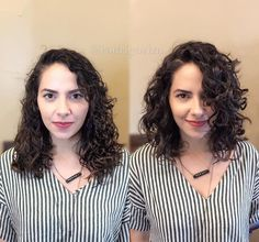 Hmm Love The Difference Not Sure What It Is Curly Bob Hairstyles Curly Hair Tips, Short Curly Hair, Hair Dos, Wavy Hair, Short Hair Cuts, Curly Lob, Fine Hair, Curled Hairstyles, Pretty Hairstyles