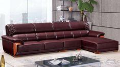 Sofa Bed Design, Living Room Sofa Design, Leather Corner Sofa, Shoes Wallpaper, Elegant Sofa, Modular Furniture, Sofa Set, Upholstery, Cushions