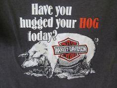 Harley Hog Vintage 1982 Harley Davidson T Shirt Grungy Love Harley T shirt ReVintageBoutique.Etsy.com