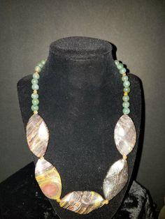 "20"""" Multi-Gemstone (Dyed) with Jade"