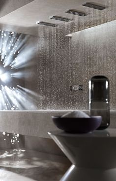 The Horizontal Shower Lets You Lie Down and Shower - Homes and Hues