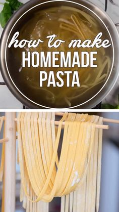 Best pasta dinner ideas this homemade pasta is not only a fun and easy recipe to make in your kitchen but nothing compares to the taste and texture of fresh homemade pasta! make a batch of this fresh pasta today! one pot cheesy chicken pasta Pasta Carbonara Receta, Pasta Alfredo Receta, Noodle Recipes, Pasta Recipes, Cooking Recipes, Cooking Tips, Homemade Spaghetti Noodles, Cooking Fresh Pasta, Pasta Casera
