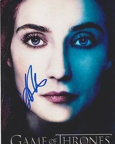 Carice Van Houten Autographed Signed 8X10 Photo COA 'Melisandre Game Of Thrones