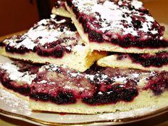 Čučoriedkový koláč s posýpkou • recept • bonvivani.sk