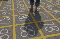 20+ Things to Do with a Hundred Chart (I want one of these on our blacktop!!)