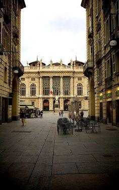 Palazzo Madama ♦ Da via Garibaldi, Torino, Italy | Flickr - Photo by pallotron