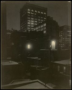 From the Back Window – 291 Artist: Alfred Stieglitz (American, Hoboken, New Jersey 1864–1946 New York) Date: 1915 Medium: Platinum print Dimensions: 25.1 x 20.2 cm (9 7/8 x 7 15/16 in.)
