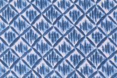 Lacefield Kimono Printed Cotton Drapery Fabric in Pacific $8.95 per yard
