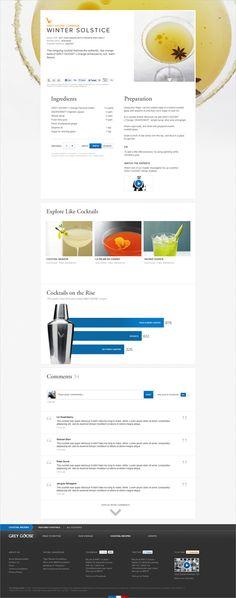 Grey Goose Vodka Site Redesign '  Chris Hayes