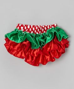 Take a look at this Strawberry Ruffle Diaper Cover - Infant by My Little Legs on #zulily today!