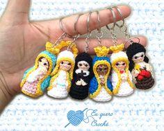 Chaveiro santos croche (cada)