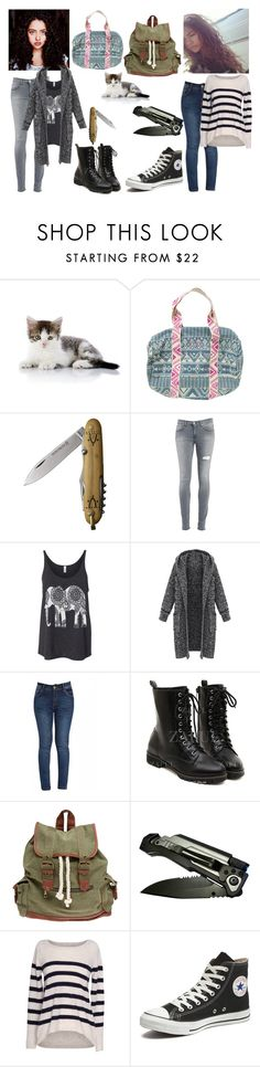 """""""Untitled #447"""" by stumblelina-xoxo ❤ liked on Polyvore featuring Coleman, Billabong, Dondup, Wet Seal, Velvet by Graham & Spencer, Converse, women's clothing, women, female and woman"""