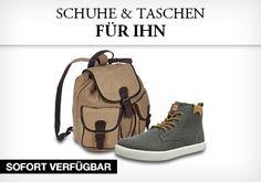 Schuhe und Taschen f眉r Ihn