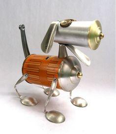 Whimsical World of Laura Bird: Artist Spotlight - Junk Robots