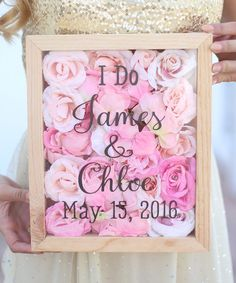 This 'I Do' Personalized Flower Bouquet Keeper is perfect! #zulilyfinds