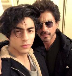 SRK with son Aryan