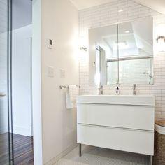 godmorgon bathroom with tub shower combo - Google Search