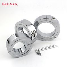 BEEGER Locking Hinged Cock Ring,Help your cock last longer during sex with a steel hinged cock size for choice Slave Collar, Butt Workouts, Steel, Toys, Fun Stuff, Rings, Daddy, Explore, Health
