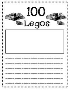 Give students 100 Legos... build and then write a descripton.