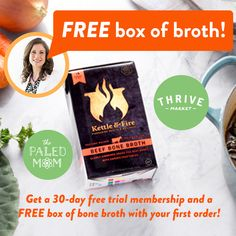 I've absolutely fallen in love with Thrive Market so I've negotiated a special deal for all of you!