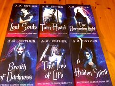 Shattered Glories series - paperback edition
